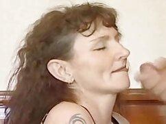 MILF, abuela anal casero como ella, polla.